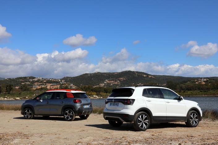 Comparatif vidéo - Volkswagen T-Cross vs Citroën C3 Aircross : les corseovers