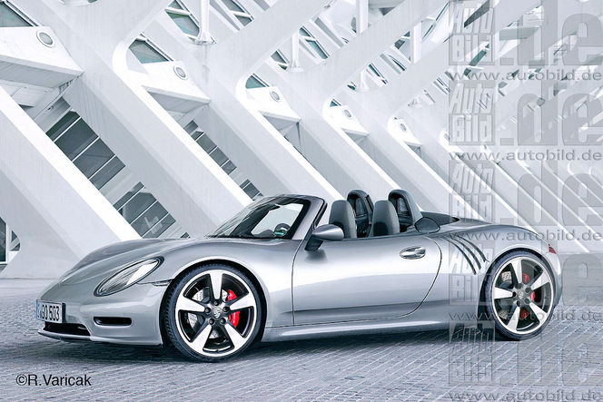 "Future ""petite"" Porsche 718: comme ça?"