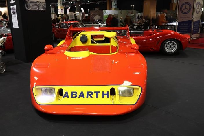 La rétrospective Abarth - Vidéo en direct de Rétromobile 2018