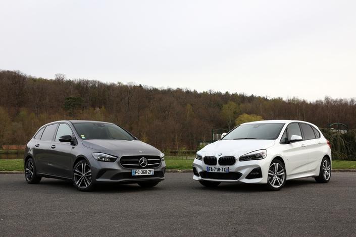 Le BMW Série 2 Active Tourer est photographié en finition M-Sport et non Sport.