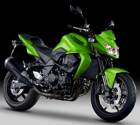 Kawasaki 2012: Z750 et Z1000 se font une couleur