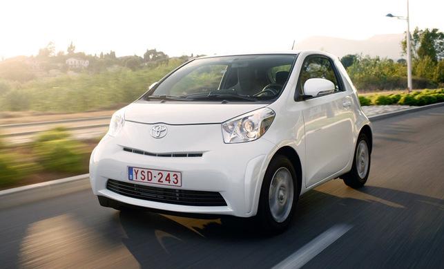 La Toyota iQ a décroché le Prix de la voiture écologique 2008