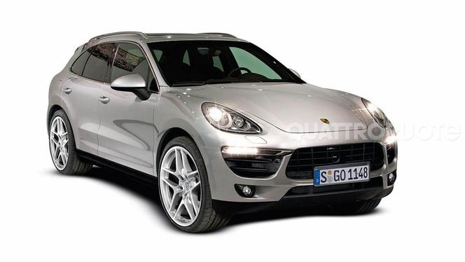 Futur Porsche Macan : comme ça ?
