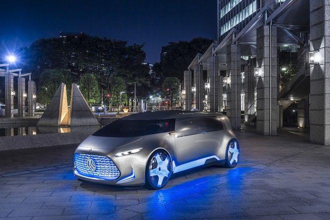 Salon de Tokyo 2015 - Mercedes lance le Vision Tokyo concept