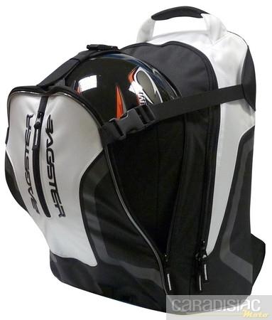 Bagster Cyclone: look et capacité de portage.
