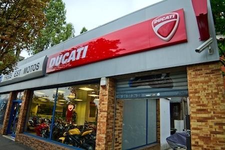 Ducati enrichit son réseau en Ile-de-France