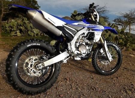 Des Metzeler MCE6 Days Extreme pour la nouvelle Yamaha WR450F