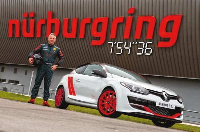 Nürburgring : 7'54''36, la Renault Mégane RS 275 Trophy-R récupère sa couronne