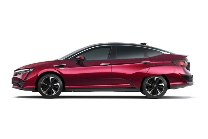 Salon de Tokyo 2015 - Honda dévoile la berline hydrogène Clarity
