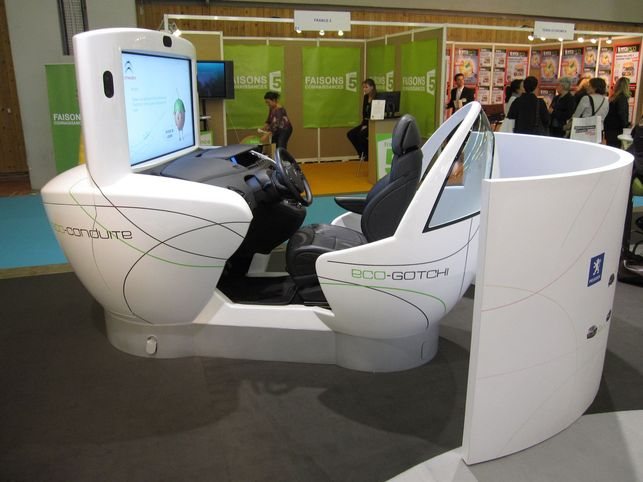 En direct du Salon Planète Durable 2009 : la mobilité durable selon PSA Peugeot Citroën