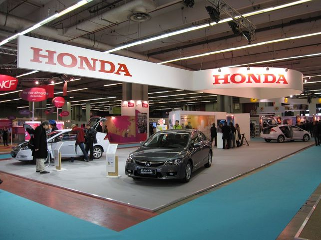 En direct du Salon Planète Durable 2009 : les technologies écolos de Honda