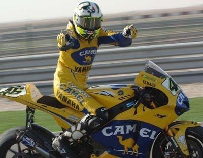 Moto GP: Rossi aux diapasons jusqu'en 2009