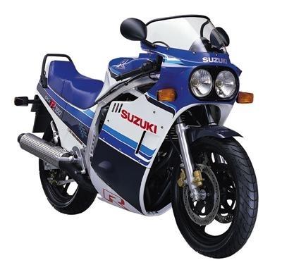 1985 - 2007 : 22 ans de 750 GSX-R