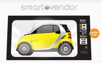 Distributeur de Smart : cet appareil ne rend pas la monnaie.