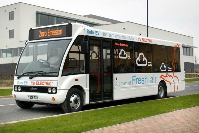 Bus électrique : l'Optare Solo EV présenté au Royaume-Uni