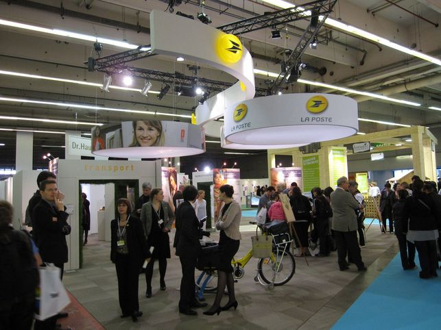 En direct du Salon Planète Durable 2009 : la mobilité durable selon la Poste