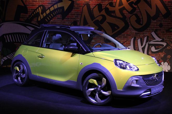 Opel Adam: de nouvelles variantes en projet