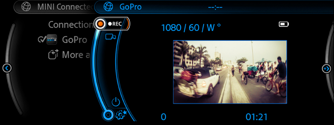 Prenez le contrôle d'une GoPro en MINI