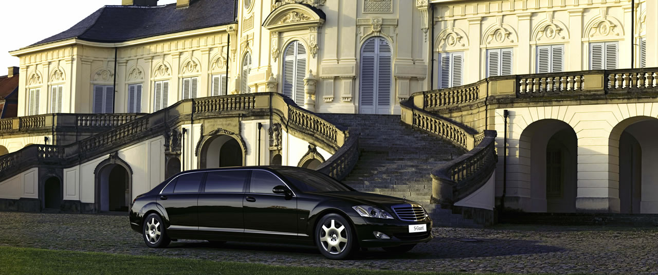 mercedes classe s 600 guard pullman limousine. Black Bedroom Furniture Sets. Home Design Ideas