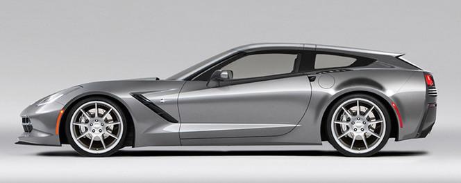 Chevrolet Corvette Stingray Shooting Brake : une production envisagée ?