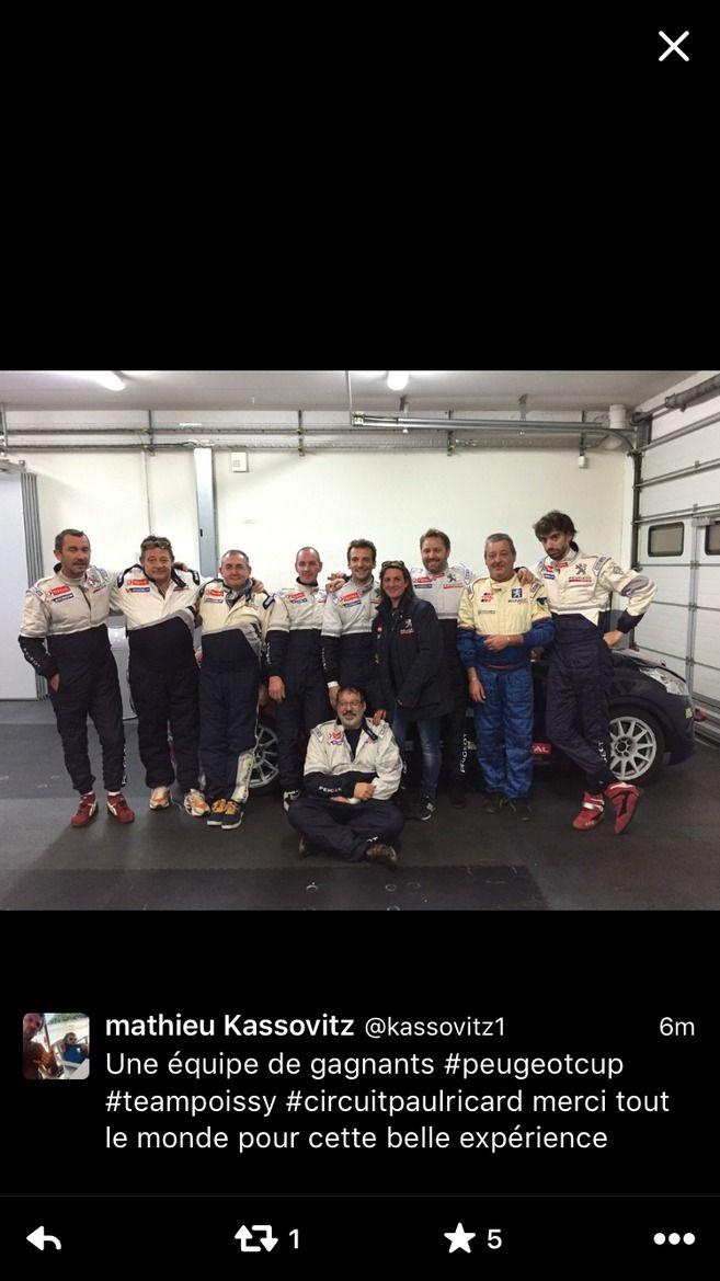Rencontres Peugeot Sport - Mathieu Kassovitz dans la course
