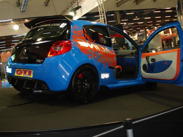 paris tuning show 2007 clio rs3 ocean ev nements. Black Bedroom Furniture Sets. Home Design Ideas