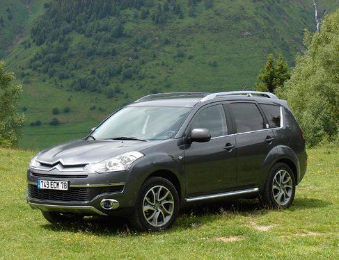 Essai - Citroën C-Crosser : premières impressions au volant