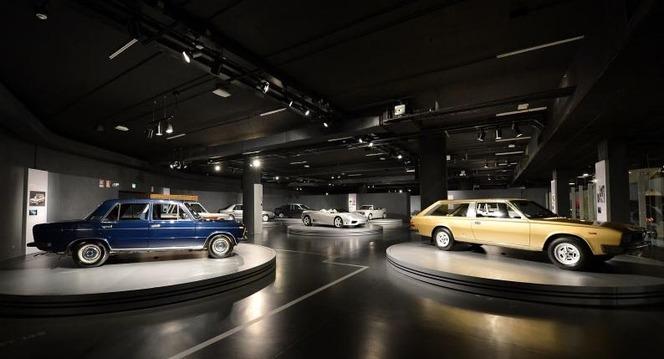Les voitures de l'Avvocato exposées en Italie