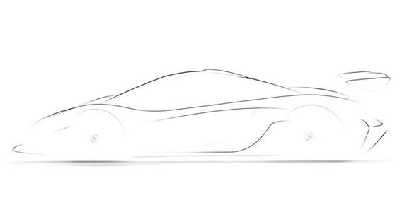 Future McLaren P1 GTR: l'instant teasing