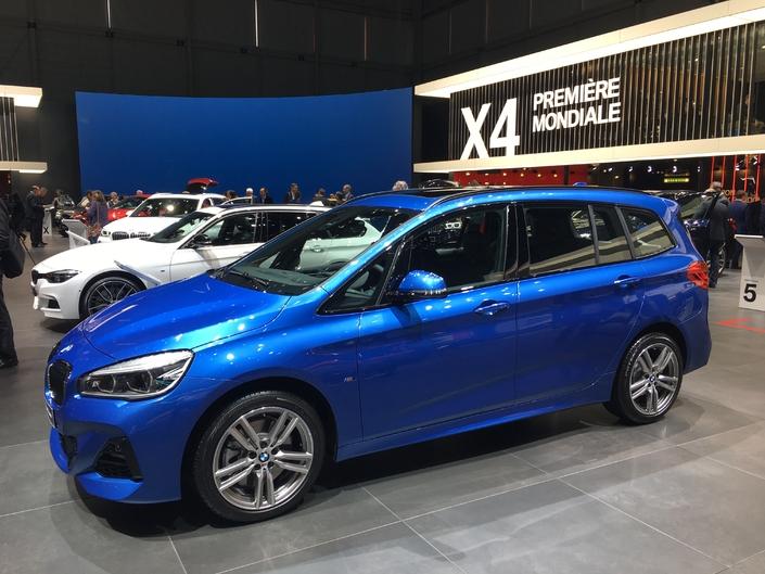 BMW Série 2 Active et Gran Tourer restylées : pour la forme - Vidéo en direct du salon de Genève 2018