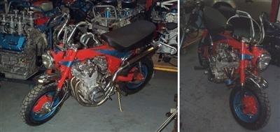 Histoire d'une petite bombe au look sympathique le Dax : Honda ST70