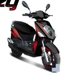 Nouveauté Scooter : Le TNT Crazy 50 cm3