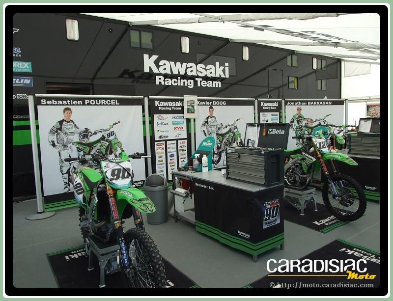 Motocross : Kawasaki Racing Team au complet à Lommel
