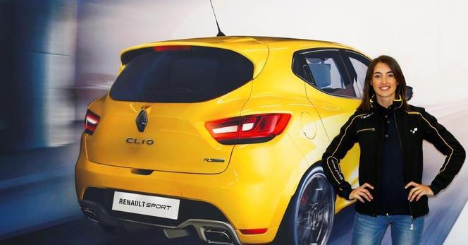 Margot Lafitte devient ambassadrice Renault Sport