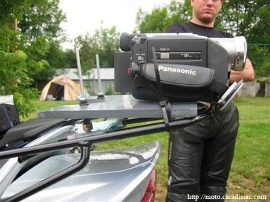 Truc et astuce N°13 : Montage d'un support de caméra arrière