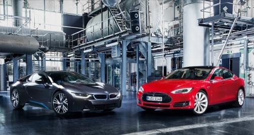 Electriques : Tesla et BMW discutent