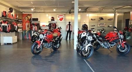Ducati: le réseau s'agrandit