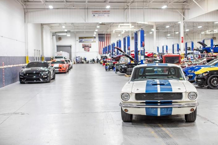 La Shelby GT350 personnelle de Carroll Shelby bientôt à vendre