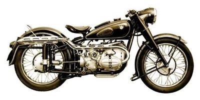 Vente aux enchères de la plus grande collection privée au monde de motos BMW.