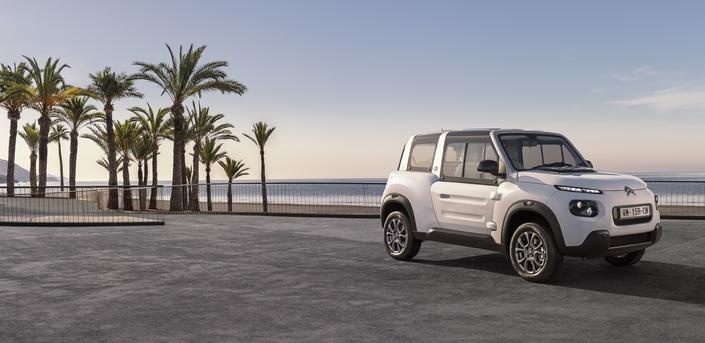 Citroën : la E-Mehari gagne un hardtop