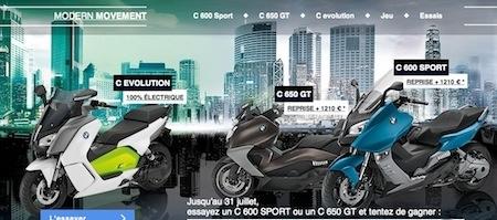 BMW: les scooters ont la vie belle jusqu'au 31 juillet 2014