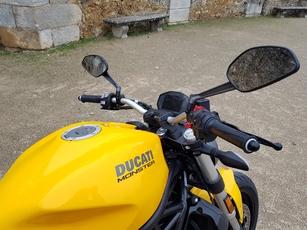 Essai Ducati Monster 821 2018 : Yellow Submarine