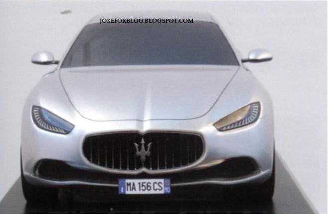 Future Maserati Ghibli: est-ce bien elle?