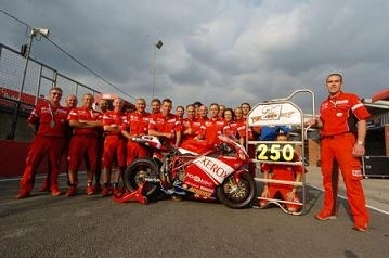 Superbike: 250 victoires pour Ducati