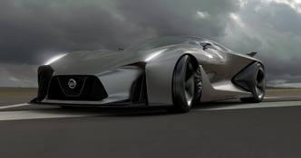 Nissan Concept 2020 Vision Gran Turismo, la future GT-R en très méchante