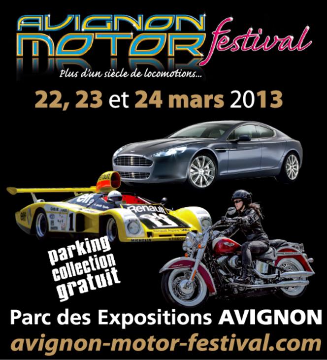 Agenda : Avignon Motor Festival, c'est le week-end prochain