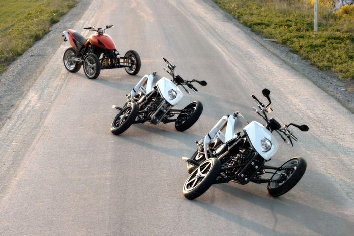 Nouveauté - Yamaha: après le Niken d'autres trois roues à venir?