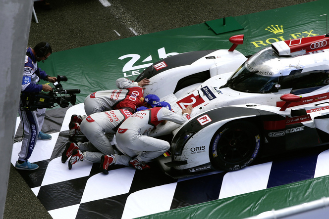 24h du Mans 2014 : 13e victoire pour Audi qui signe un doublé