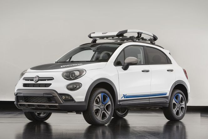 Fiat dévoile deux concepts de 500X pour le SEMA show