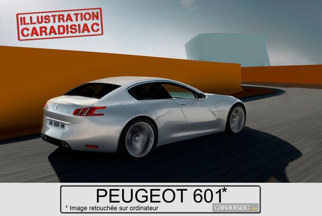 Un coupé quatre portes haut de gamme pour Peugeot l'an prochain !